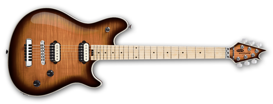 Wolfgang® USA HT, Birdseye Maple Fingerboard, Tobacco Burst