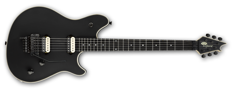 Wolfgang® Stealth, Ebony Fingerboard, Stealth Black w/ Case
