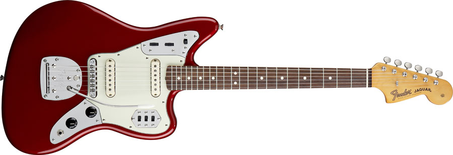 Profile of Fender Classic Player Jaguar Special