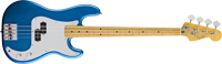 Steve Harris Precision Bass®, Maple Fretboard, Royal Blue Metallic, Chrome Pickguard