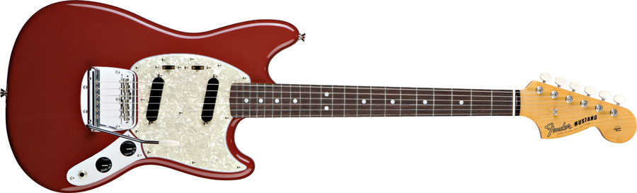 Profile of Fender Classic Series '65 Mustang