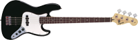 Affinity Jazz Bass, Rosewood Fingerboard, Black