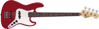 Affinity Jazz Bass, Rosewood Fingerboard, Metallic Red