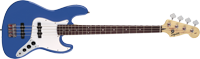 Affinity Jazz Bass, Rosewood Fingerboard, Metallic Blue
