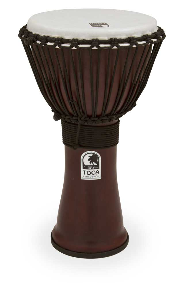 toca toca freestyle ii rope tuned 10 djembe. Black Bedroom Furniture Sets. Home Design Ideas